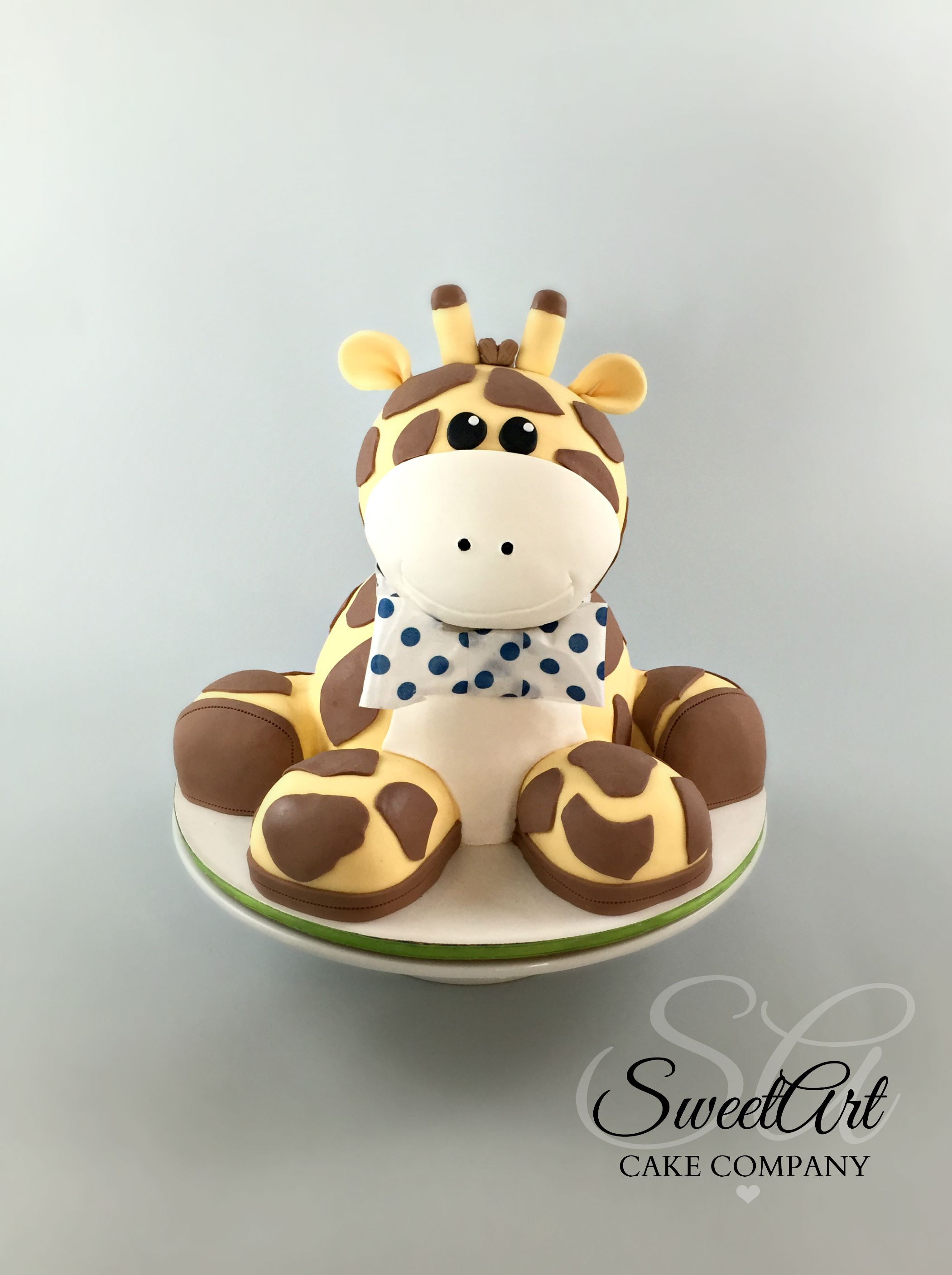 Stuffed Giraffe Cake