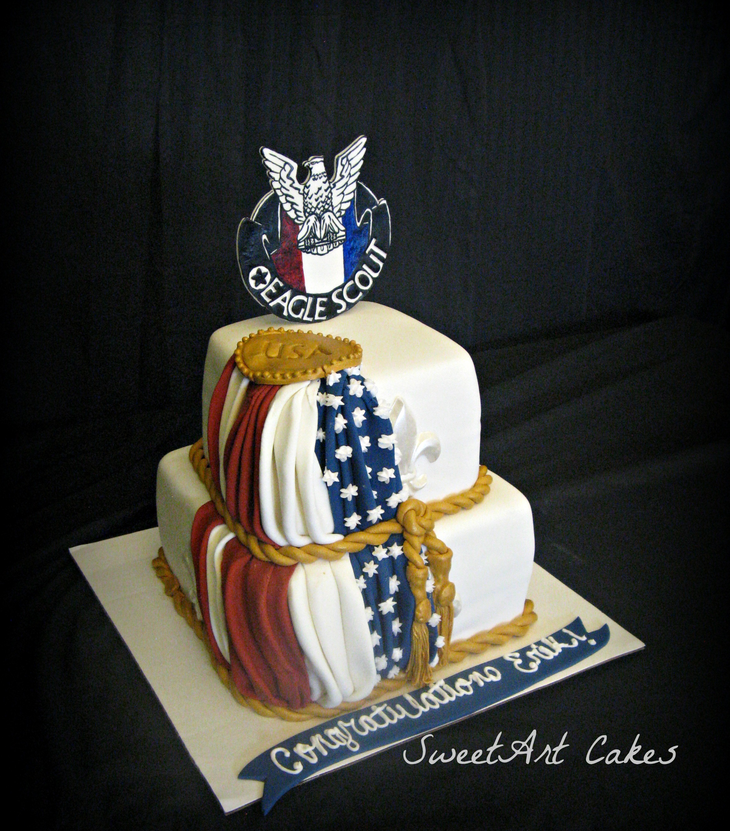 Eagle Scout COH Cake