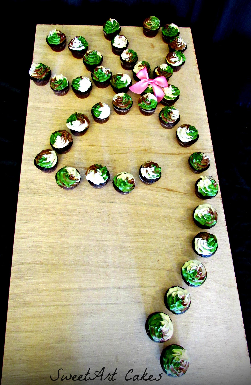 Browning Camo Cupcakes