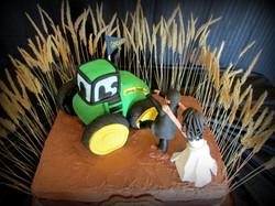 John Deere Tractor Groom's Cake