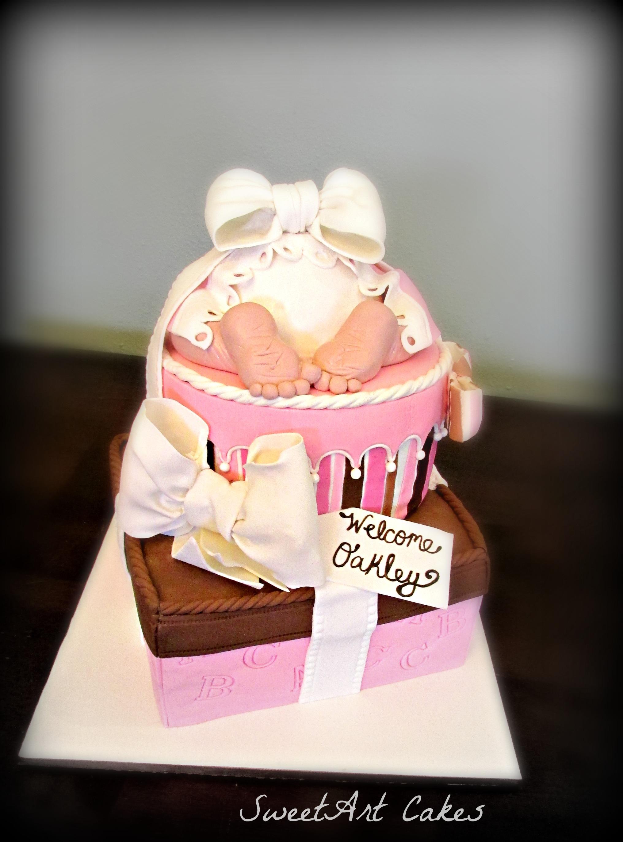 Baby Bum Gift Baby Shower Cake