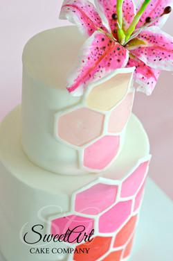 Decogel Pattern Cake
