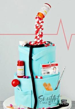 Completely Edible Nurse Cake