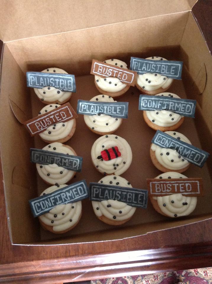 MythBusters Cupcakes