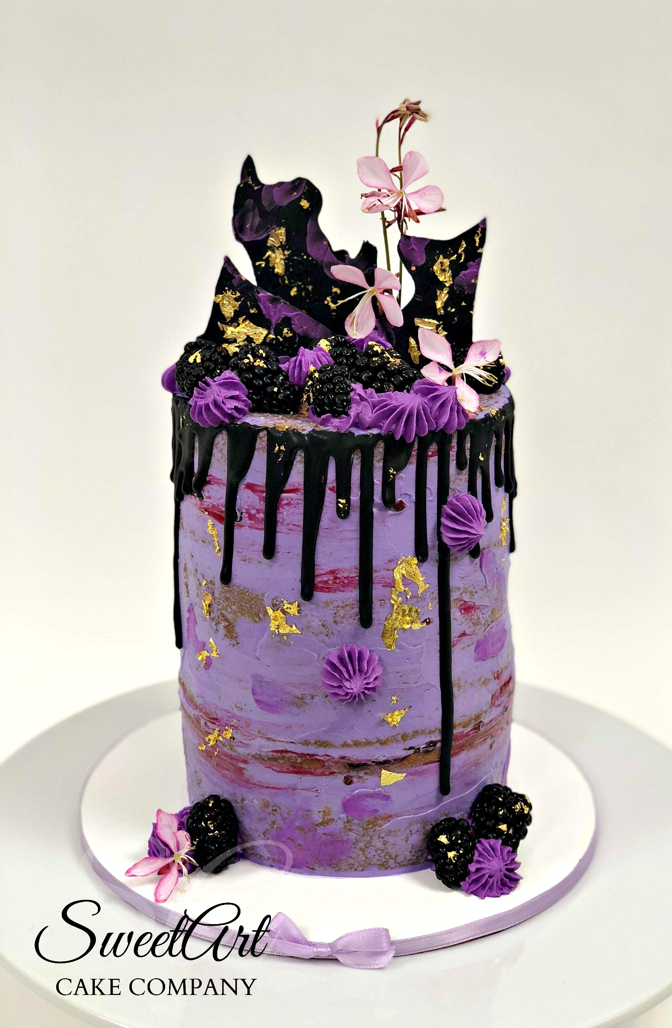 Buttercream Drip Cake