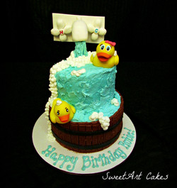 Rubber Duckie Cake