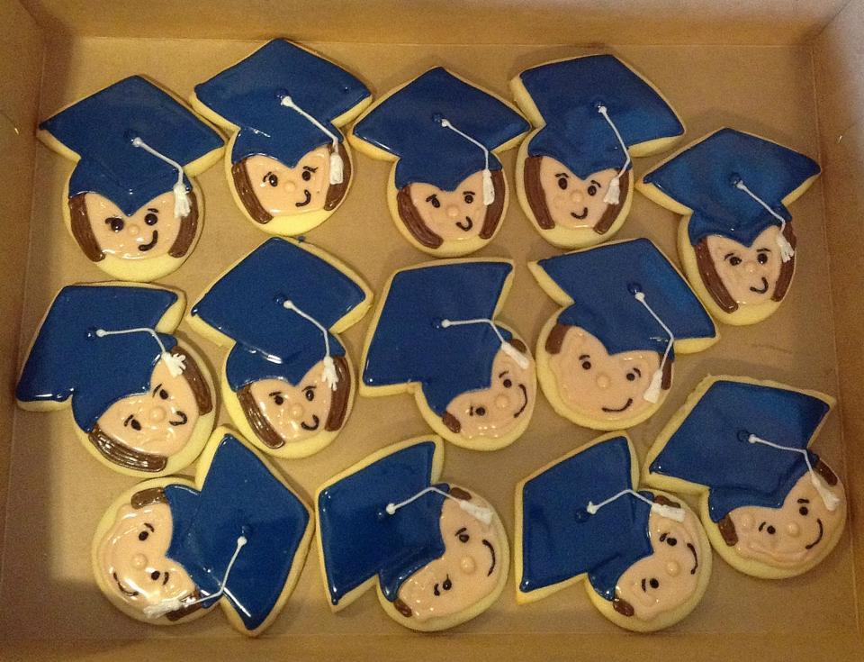 Little Graduate Cookies
