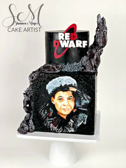 Red Dwarf Cake
