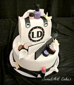 Cosmo Graduation Cake