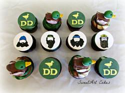 Duck Dynasty Cupcakes