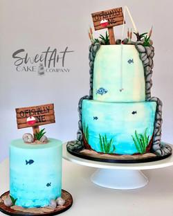 Ofishally One Birthday Cakes