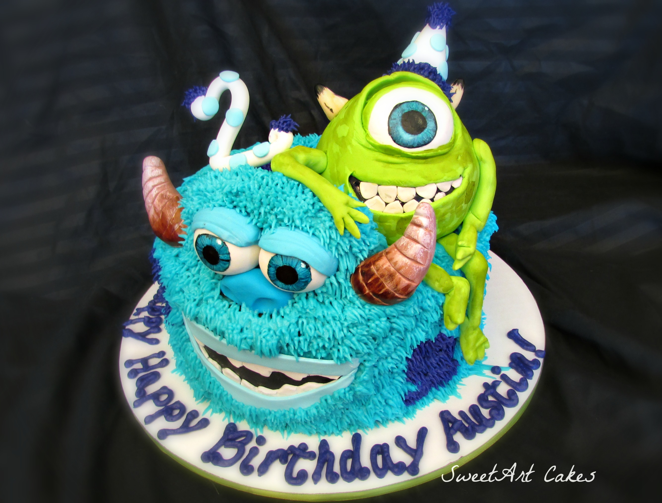 Monster's Inc. Cake