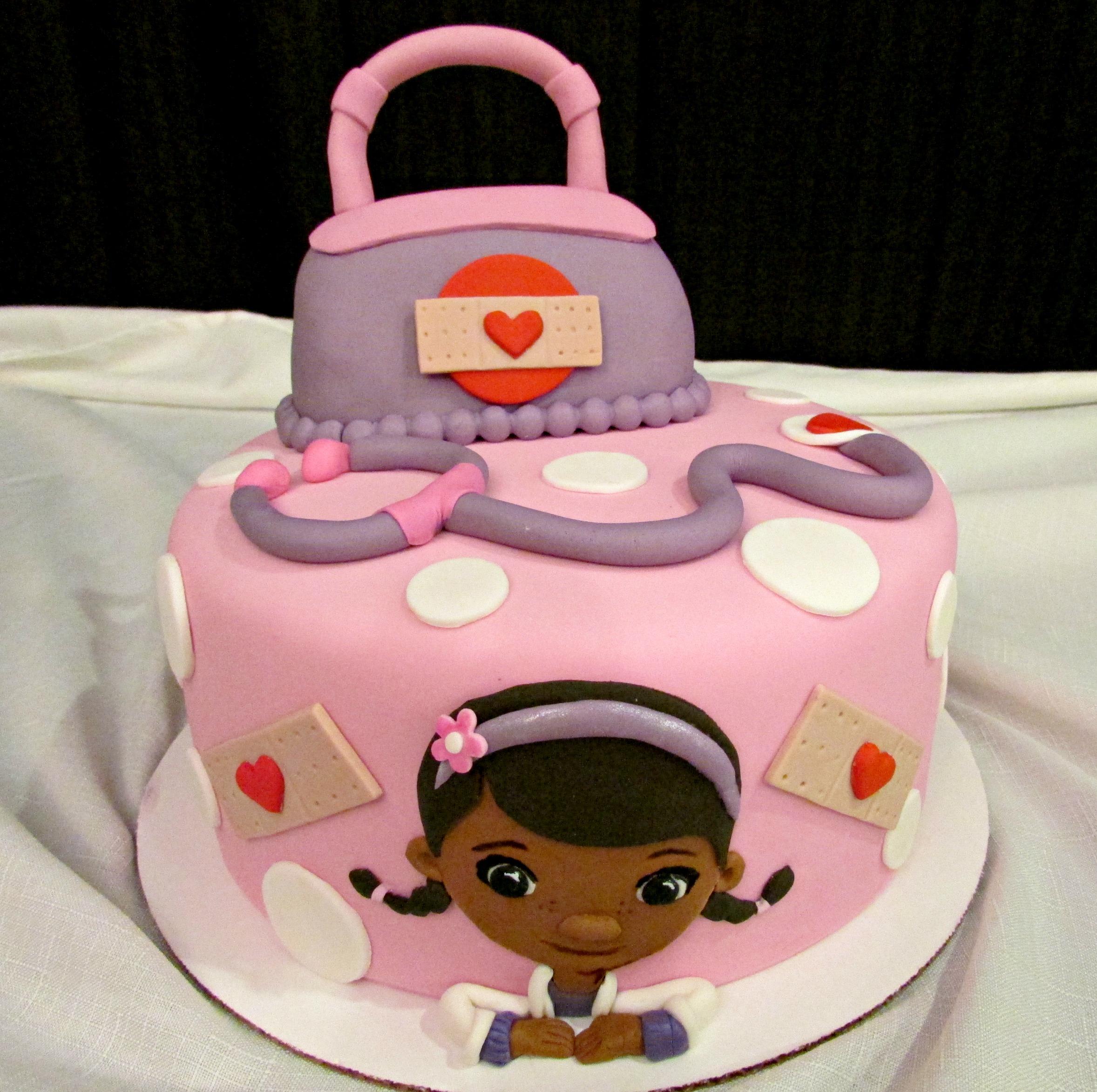 DoccMcStuffins Cake