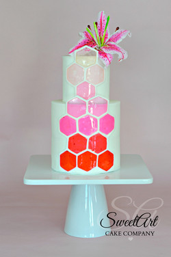 Modern Decogel Techniques Cake