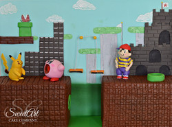 Super Smash Bros. Birthday Cake