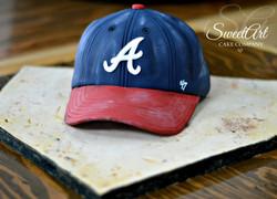 Baseball Hat Groom's Cake