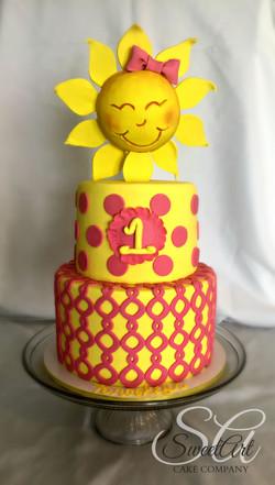 You are My Sunshine Cake