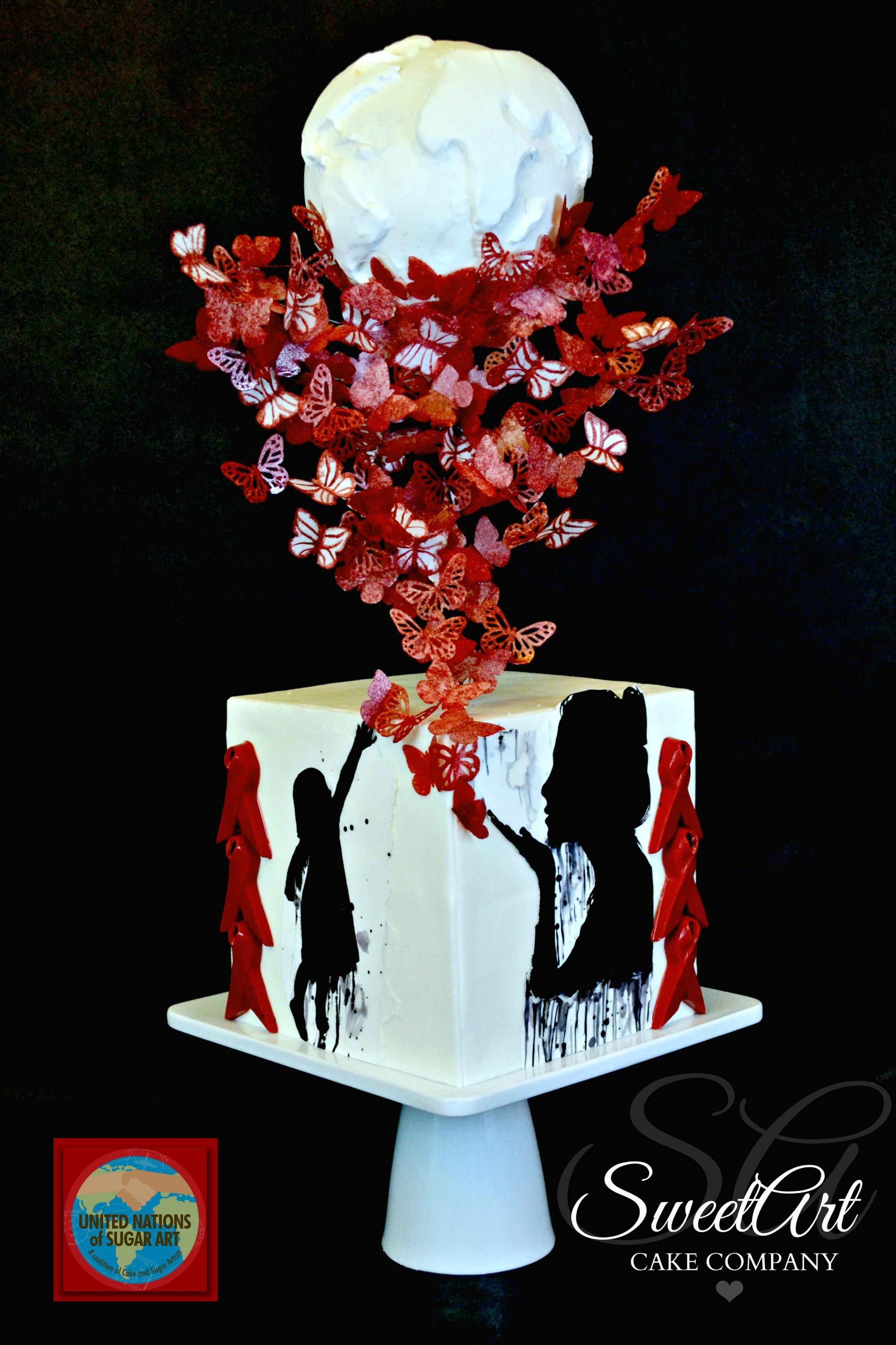 World Aids Day Cake