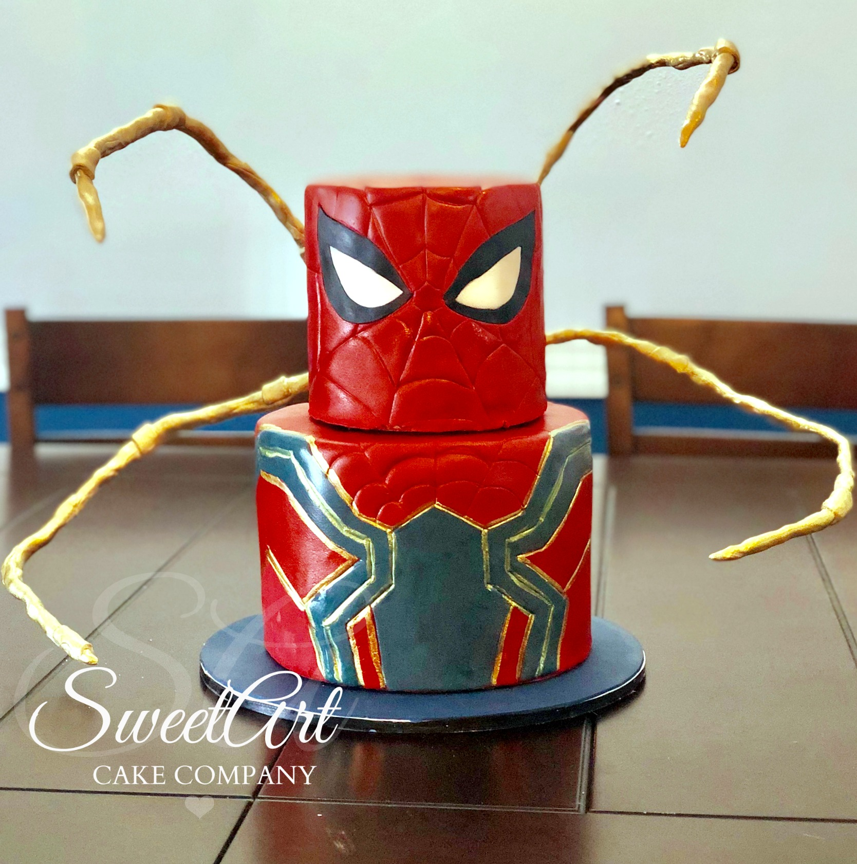 Iron Spiderman Cake
