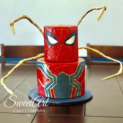 Iron Spiderman Cake