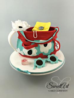 Little Girl's Purse Cake