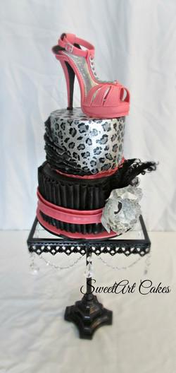Fashion Shoe Cake