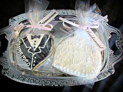 Bridesmaid Groomsmen Cookies