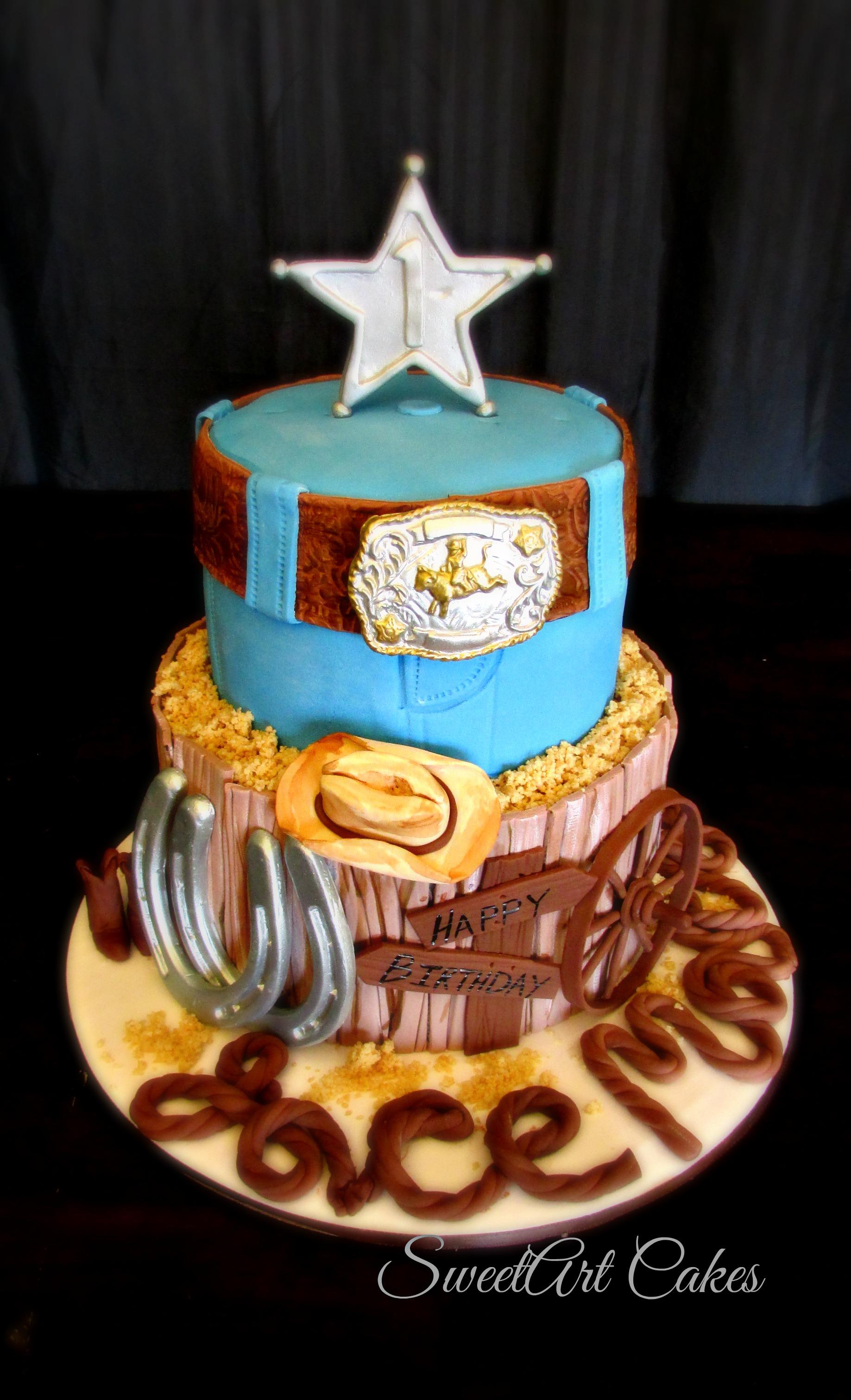 Little Cowboy Cake