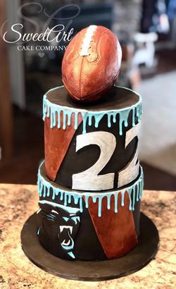 North Carolina Panthers Cake