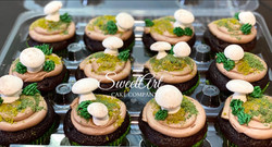 Woodland Baby Shower Cupcakes