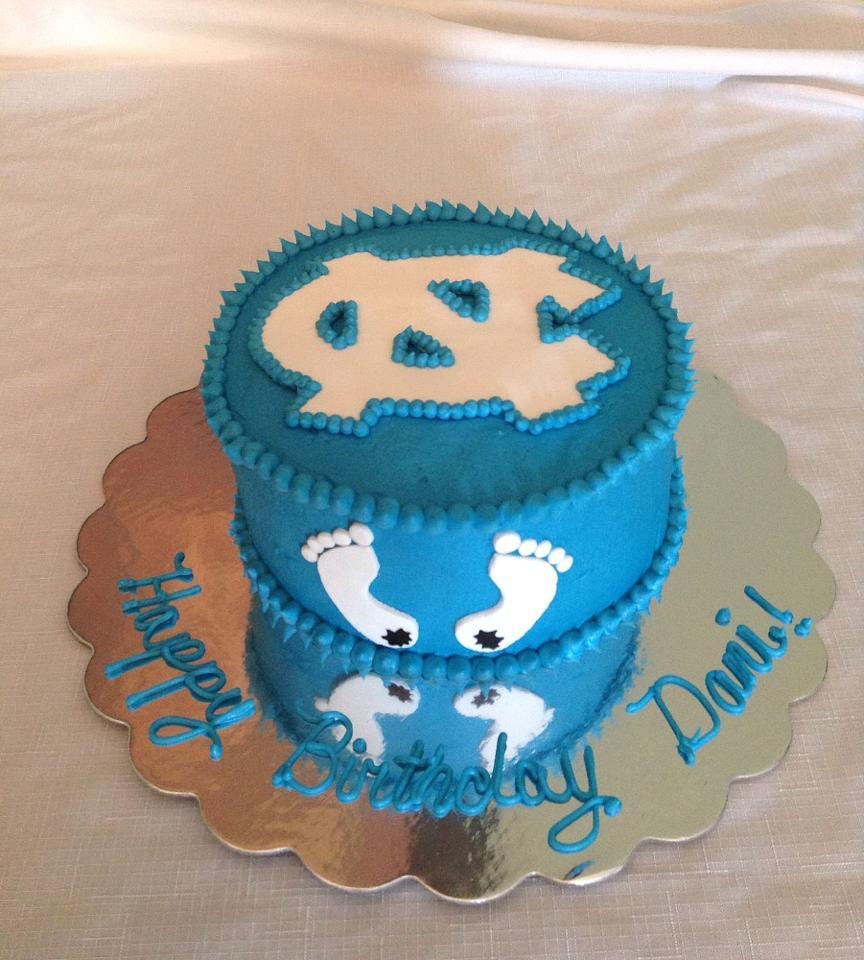 Tar Heels Cake