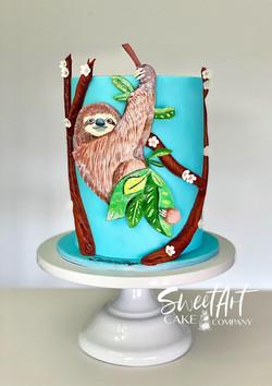 Sloth Cake