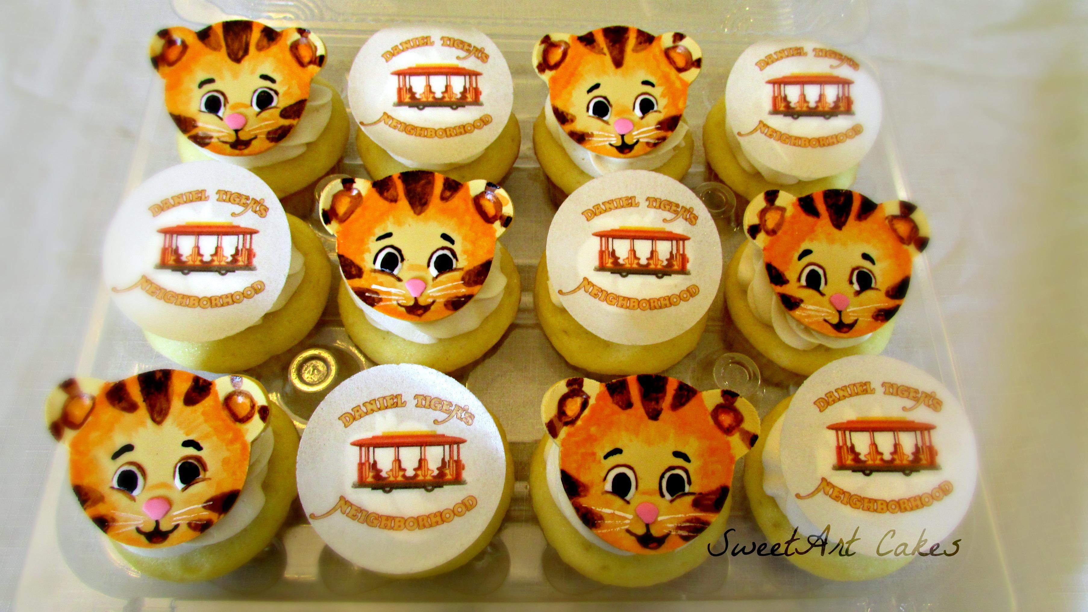 Daniel Tiger Cupcakes