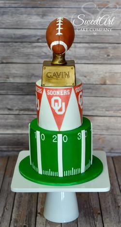 Sooners Birthday Cake