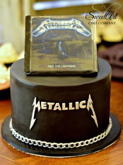 Metallica Groom's Cake