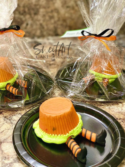 Wicked Witch Cupcakes