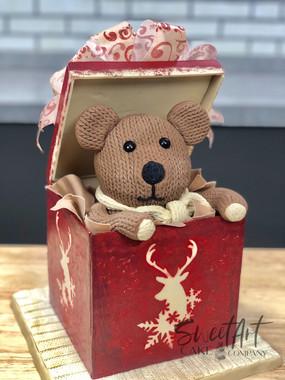 Christmas Teddy Bear Present