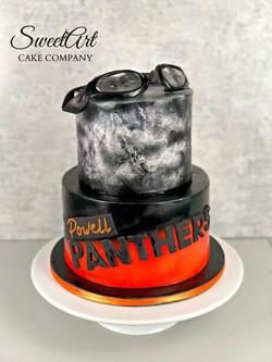 Powell Swim Team Cake