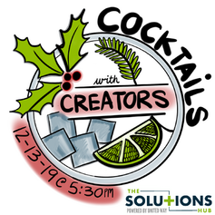 VSUW The Solutions Hub Cocktails with Creators