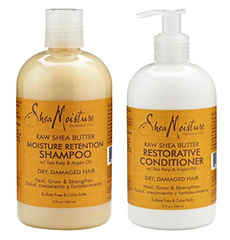 Shea Moisture Shampoo and Conditioner