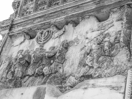 Eyes open in Rome...
