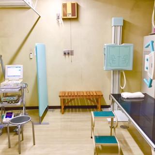 レントゲン心電図室