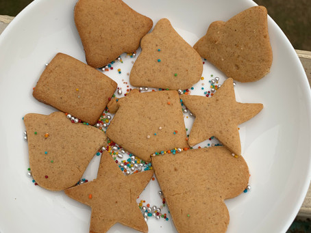 Christmas Special Ginger Spiced Cookies
