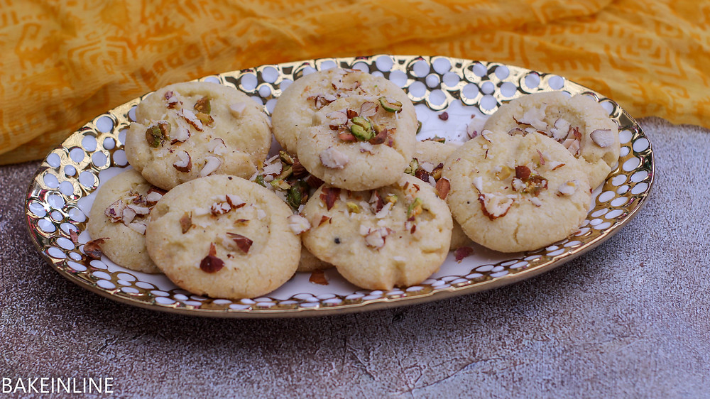 Nan Khatai Simple Indian Cookies Recipe