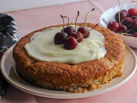 Fresh Cherry Cake