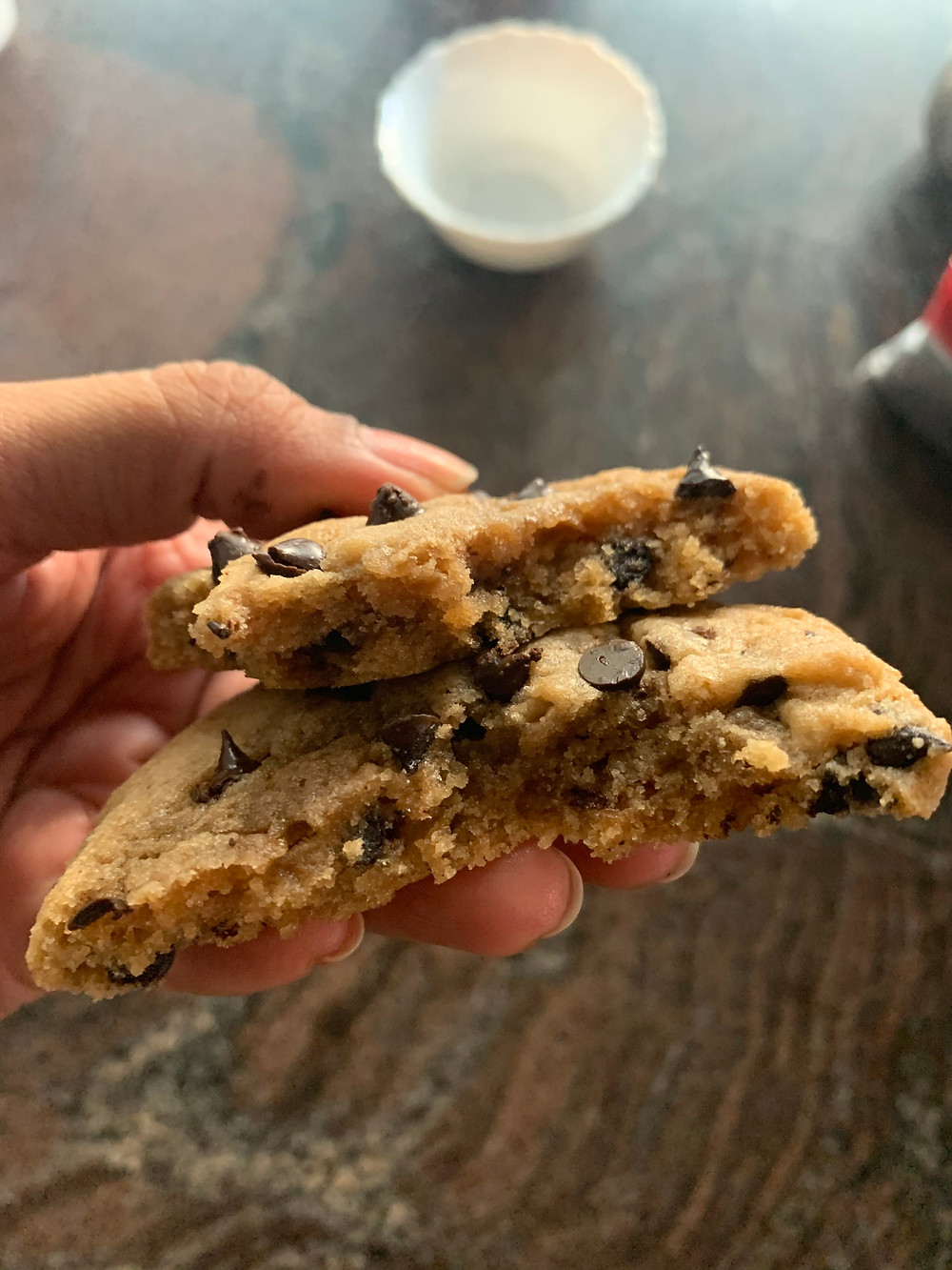 Chocolate Chip Cookies Bakery Style Bakeinline