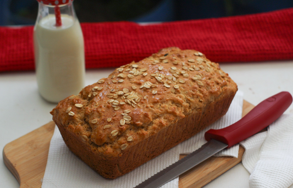 With mostly all ingredients available in your kitchen, this bread is gonna be a quick and easy option for you to eat and bake. Also, it's perfect for this quarantine time.