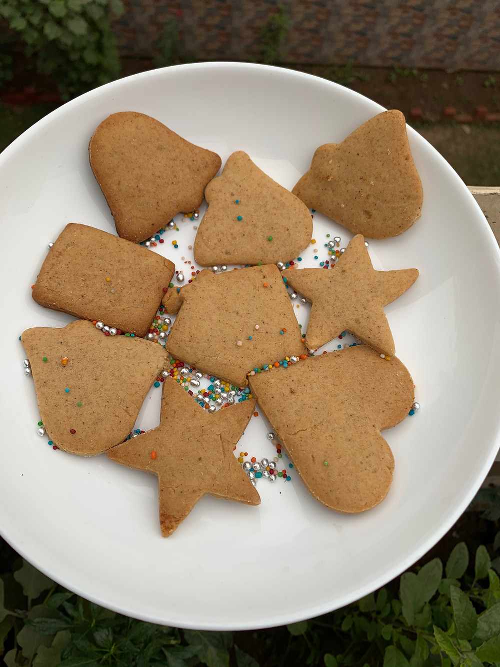 Ginger spiced christmas cookies bakeinline