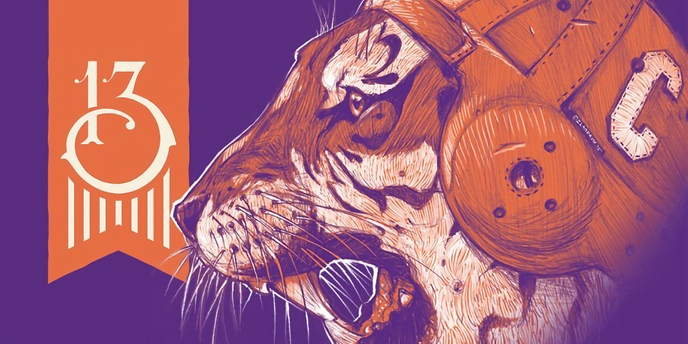 Clemson live in the taproom!