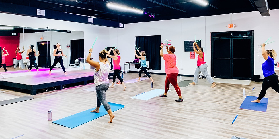 Pound Class with Flair Fitness